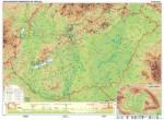 Stiefel Magyarország domborzata falitérkép (87717-XL)