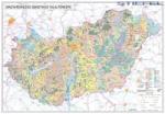 Stiefel Magyarország talajtani térképe, falitérkép (87921T-XL)