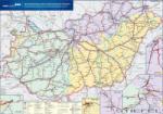 Stiefel Magyarország vasúti árufuvarozási falitérkép (878477T-M)