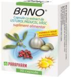 Parapharm Bano - Extract de usturoi, paducel si vasc - 30 comprimate