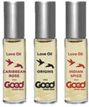 Good Clean Love Love Oil Set 3 x 3ml