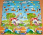Meying-Price Covoras de joaca bebe cu 2 fete 150x180 cm (KT 353)