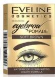 Eveline Cosmetics Szemöldök pomádé - Eveline Cosmetics Eyebrow Pomade Waterproof Soft Brown