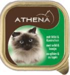 Athena Athena - ПАСТЕТ Месо от дивеч и заек, пълноценна храна за израснали котки, Германия - 100 гр (ika athena - ПАСТЕТ Месо от дивеч и заек 100гр)