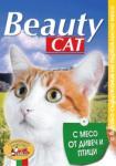 Beauty Beauty cat - МЕСО ОТ ДИВЕЧ И ПТИЦИ, пълноценна храна за израснали котки, консерва, Австрия - 415 гр (ika beauty cat МЕСО ОТ ДИВЕЧ И ПТИЦИ консерва котка 415гр)