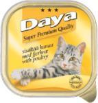 Daya Daya - Месо от птици, пастет, пълноценна храна за котки, подходяща за ежедневна употреба, Германия - 100 гр (ika daya - Месо от птици, пастет 100гр)