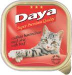 Daya Daya - Телешко месо, пастет, пълноценна храна за котки, подходяща за ежедневна употреба, Германия - 100 гр (ika daya - Телешко месо, пастет 100гр)