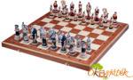 """Sunrise sakk készletek Spartacus sakk készlet márvány sakk figurákkal - Sunrise CH156 (SU) """"kifutó"""