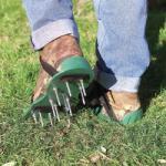 ATL Set Incaltaminte Sandale Pentru Aerare Aerator Gazon Gradina AG178