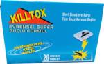 Kiltox Killtox таблетки против комари за машинка 20 броя