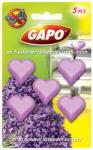 Gapo Ароматизатор против молци Gapo лавандула, сърца 5 броя в опаковка