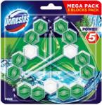 Unilever Domestos power 5, топчета за тоалетна чиния 3 броя в опаковка