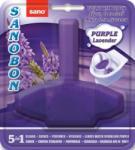 Sano bon ароматизатор за тоалетна чиния, Лилава вода, Лавандула, 55гр
