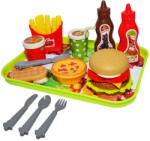 Roben Toys Set creativ fast food 24 piese (552-1) Bucatarie copii