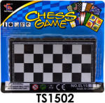 TS Sakk, mágneses Társas játék , úti, 16*14 cm lapon (TS1502)