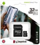 Kingston microSDHC Canvas Select Plus 32GB UHS-I/C10/V30/A1 SDCS2/32GB