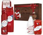 Procter & Gamble Old spice подаръчен комплект за мъже, дезодорант 150мл, душ гел 250мл, афтършейв 100мл, стик, чорап, whitewater
