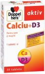 Doppelherz Calciu + Vitamina D3 , 30 tablete