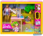 Mattel Barbie - National Geographic lepkekutató játékszett (GDM49)