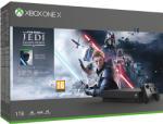 Microsoft Xbox One X 1TB + Star Wars Jedi Fallen Order Deluxe Edition Конзоли за игри