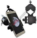 Gosky GSK 021B mobiltelefon fotó adapter távcsövekhez védőburkolattal