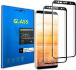 Smartscreen Folie sticla curbata 3D Edge full cover Samsung Galaxy S9, Negru