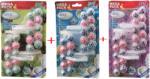 Fresh Промо пакет 12 броя ароматизатори топчета за тоалетна чиния, Бор, Океан, Лавандула, Wece fresh