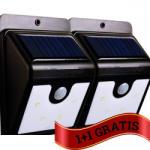 As Seen On Tv Set lampa LED cu incarcare solara si senzor de miscare, 0.44W, 600 mAh