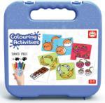Educa Pexeso autocolante Obiecte Colouring Activities în valiză Educa 18 piese - colorare cu carioci (EDU18224)