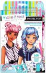 Make It Real Divattervező vázlatfüzet - pasztel pop (3205)