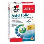 Doppelherz Acid folic + complex Vitamine B Doppelherz aktiv, 30 comprimate, Queisser Pharma (FSH600)