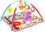 Masen Toys Virágos bébi játszószőnyeg - rózsaszín (023-26)