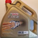 Castrol Edge LL IV 0W-20 4L
