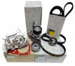 Ford Oe Pachet revizie cu Kit Distributie si Pompa Apa Dacia Duster 1.5 DCI, 4x4 110 CP, Kit Distributie Dacia