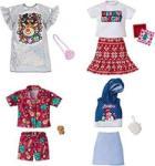 Mattel Barbie Holiday Fashion Set Haine GGG48 Papusa Barbie
