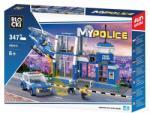 Klocki BLOCKI Joc constructie, My Police, Statie politie, 347 piese Blocki RB27004