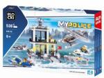 Klocki BLOCKI Joc constructie, My Police, Statie politie pe apa, 536 piese Blocki RB27007 (RB27007)