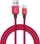 DEVIA Cablu MicroUSB Devia Pheez Series Red 1m (DVPSMICRD)