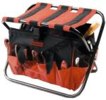 MTX összehajtható szerszámos szék 420 x 390mm (902499) - kellegyszerszam