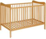 Casa Bebelusului Patut lemn Natur Grezes 120x60 cm