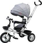Casa Bebelusului Tricicleta Beberoyal 500 TC Gri copii, scaun reversibil, pliabila, copertina, maner parental