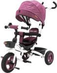 Casa Bebelusului Tricicleta Beberoyal 500 TC Mov copii, scaun reversibil, pliabila, copertina, maner parental