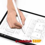 WIWU érintőképernyő ceruza, kapacitív kijelzőkhöz, aktív érzékelő technológia, 110mAh beépített újratölthető akkumulátorral, kézírásra, rajzolásra, FEHÉR, GYÁRI