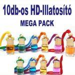HD Europe 10db-os HD-ILLAT Illatosító MEGA PACK