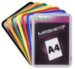 Tarifold Mágneses tasak mágneses háttal A/4 TARIFOLD Magneto Solo, ezüst, 2db/csomag