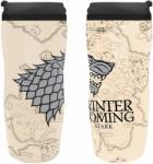 Aby Style Aby Style: Game Of Thrones Travel Mug Utazóbögre (Winter is Coming) (Ajándéktárgyak)