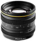 KAMLAN 50mm f/1.1 (Olympus/Panasonic) Obiectiv aparat foto