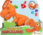 Dinozauri DINOZAUR JUNIOR T-REX CU LUMINI SI SUNETE - Portocaliu (B80076)