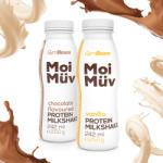 GymBeam MoiMüv Protein Milkshake 242 ml ciocolată