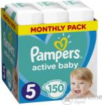 Pampers Месечна кутия за памперси Pampers Active, размер 5, 150 бр (10DP010394)
